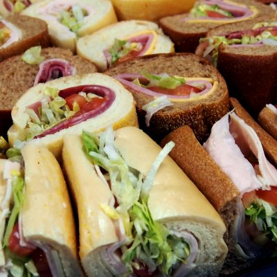 Sandwich & Wrap Trays
